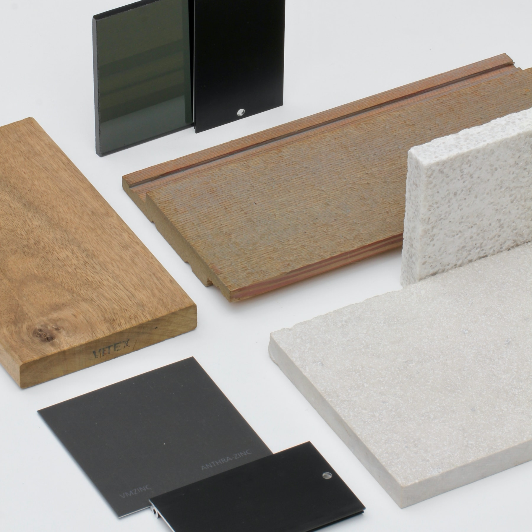Stanley Point Exterior Materials